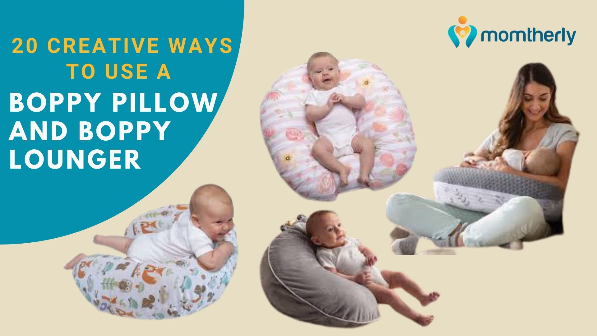 20 creative ways to use a boppy pillow and boppy lounger